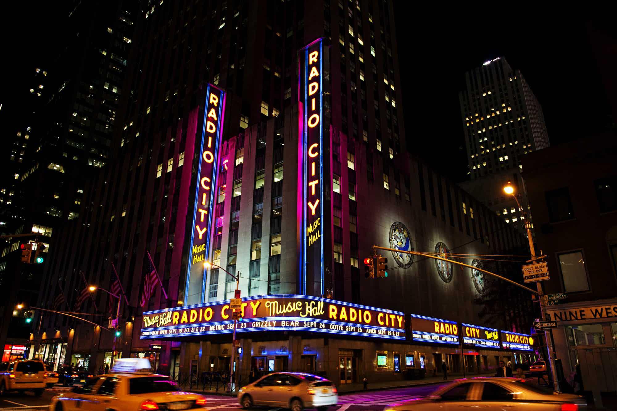 The Best Restaurants Near Radio City Music Hall New York