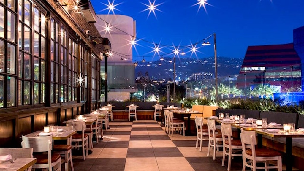LA's Hottest Hotel Rooftop Restaurants and Bars - Zagat